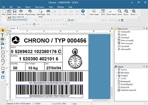 LABELVIEW - Barcode Label Design Software from TEKLYNX